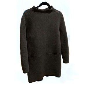 Lululemon mock neck long tunic style sweatshirt